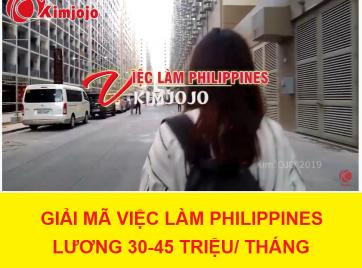 Giải mã việc làm Philippines