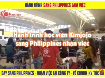 Hành trình sang Philippines nhận việc